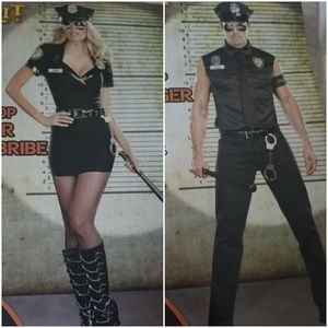His & hers cop costumes